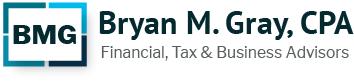 Bryan M. Gray, CPA P.C. Logo